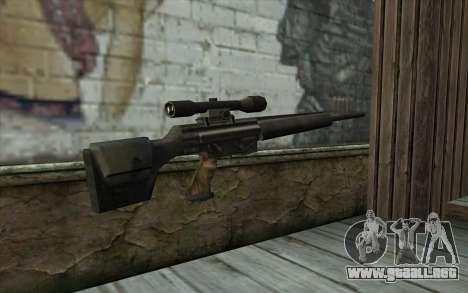 HK PSG1 from Beta Version para GTA San Andreas segunda pantalla