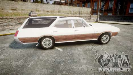 Oldsmobile Vista Cruiser 1972 Rims1 Tree3 para GTA 4 left