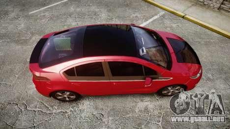 Chevrolet Volt 2011 v1.01 rims1 para GTA 4 visión correcta