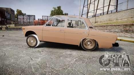 VAZ-2106 hooligan estilo de azerbaiyán para GTA 4 left