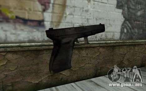 Glock from Beta Version para GTA San Andreas segunda pantalla