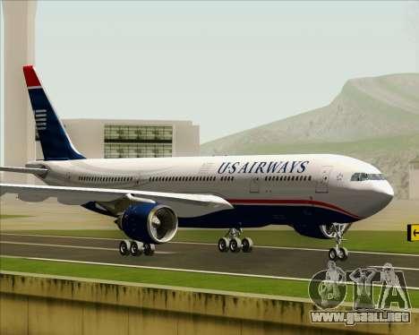 Airbus A330-200 US Airways para GTA San Andreas left
