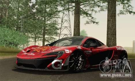 McLaren P1 HQ para el motor de GTA San Andreas