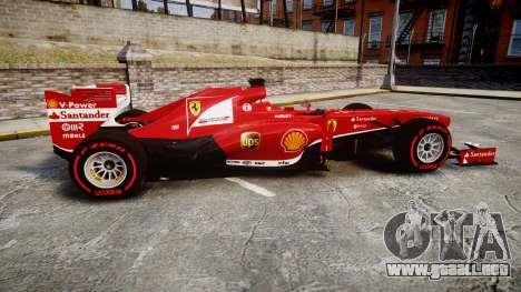 Ferrari F138 v2.0 [RIV] Alonso TSSD para GTA 4 left