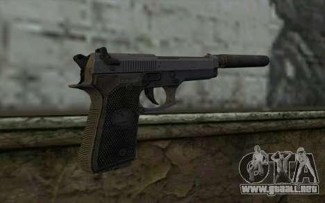 M9A1 Beretta from Spec Ops: The Line para GTA San Andreas segunda pantalla