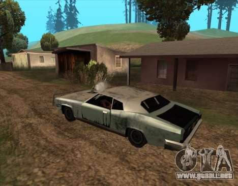 Post-Apocalíptico Bucanero para GTA San Andreas vista posterior izquierda
