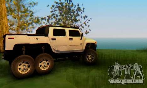 Hummer H6 Sut Pickup para visión interna GTA San Andreas