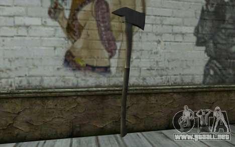 Fire axe (DayZ Standalone) v2 para GTA San Andreas segunda pantalla