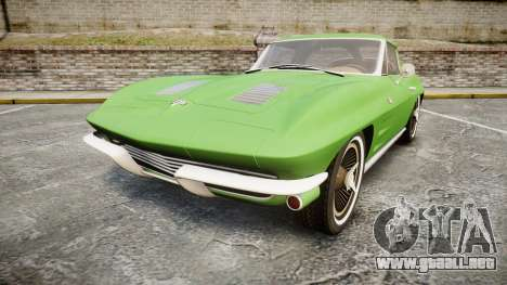 Chevrolet Corvette Stingray 1963 para GTA 4