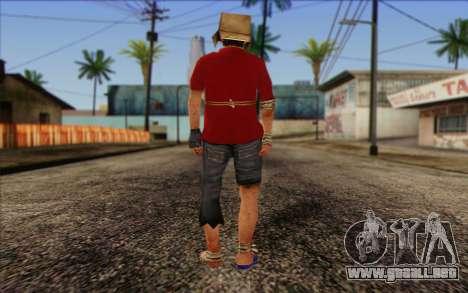 Vagabonds Skin 2 para GTA San Andreas segunda pantalla