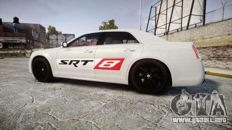 Chrysler 300 SRT8 2012 PJ SRT8 para GTA 4 left