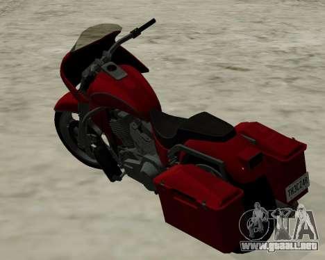 Bagger para GTA San Andreas left