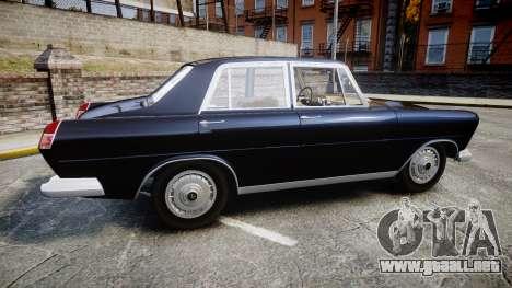 FSO Warszawa Ghia 1959 para GTA 4 left