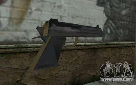 Desert Eagle from Cutscene para GTA San Andreas segunda pantalla