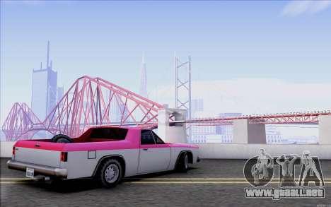 New Picador para la visión correcta GTA San Andreas