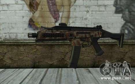 CZ-3A1 Scorpion (Bump Mapping) v1 para GTA San Andreas