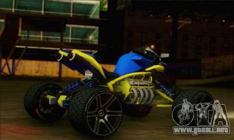 ATV Quad para GTA San Andreas left