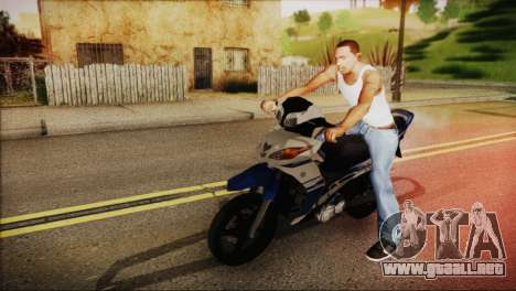Yamaha Lagenda 115Z 2013 Fuel Injection para GTA San Andreas