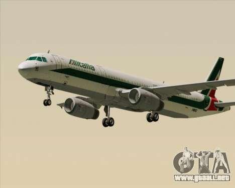 Airbus A321-200 Alitalia para GTA San Andreas