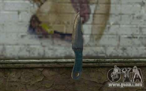 Knife from Metro 2033 para GTA San Andreas