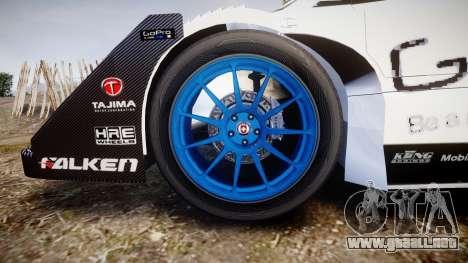 Suzuki Monster Sport SX4 2011 para GTA 4 vista hacia atrás