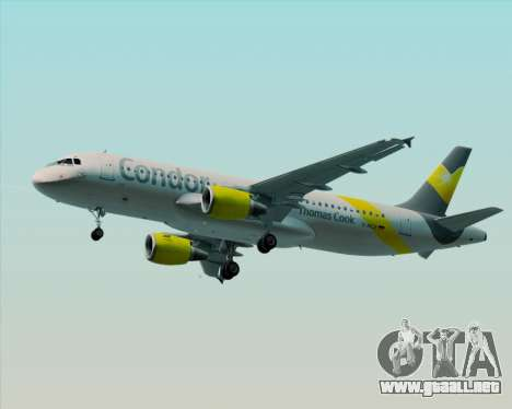 Airbus A320-212 Condor para GTA San Andreas left