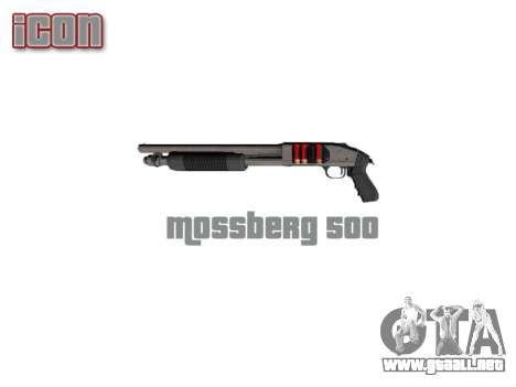Riot escopeta Mossberg 500 icon3 para GTA 4 tercera pantalla