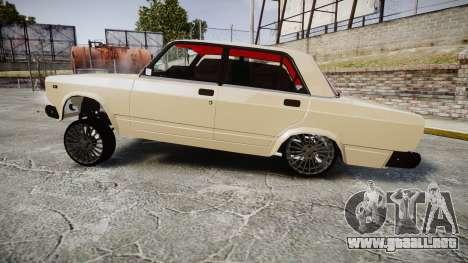 VAZ-2107 estilo de azerbaiyán para GTA 4 left