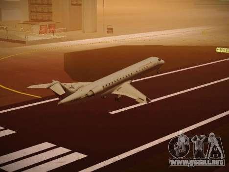Bombardier CRJ-700 Air Canada Express para vista lateral GTA San Andreas
