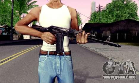 EL AK-74M para GTA San Andreas tercera pantalla