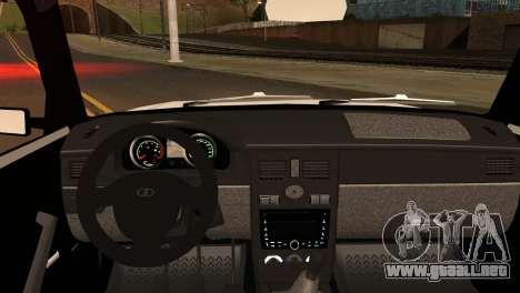VAZ 2104 & 2106 para GTA San Andreas vista posterior izquierda