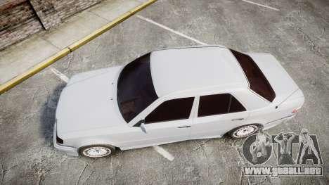 Mercedes-Benz E500 1998 Tuned Wheel White para GTA 4 visión correcta