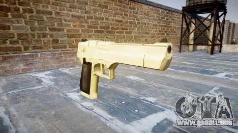 Пистолет Desert Eagle De Oro PointBlank para GTA 4