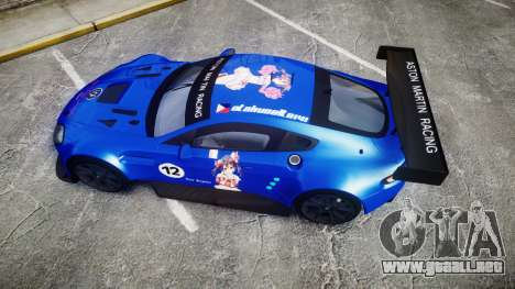 Aston Martin Vantage GTE Nico Yazawa para GTA 4 visión correcta