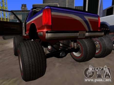Nuevas texturas Monstruo para GTA San Andreas para la visión correcta GTA San Andreas