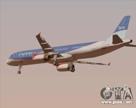 Airbus A321-200 British Midland International para el motor de GTA San Andreas
