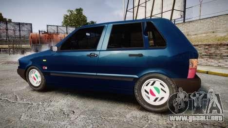 Fiat Uno para GTA 4 left