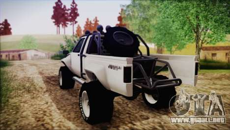 Karin Rebel 4x4 para GTA San Andreas left