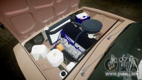 VAZ-2106 hooligan estilo de azerbaiyán para GTA 4 vista interior