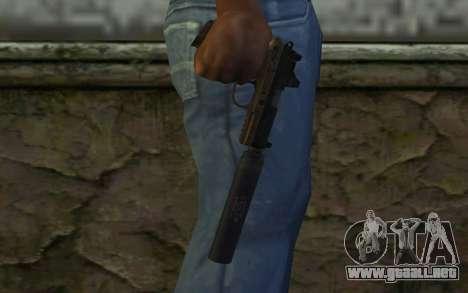 FN FNP-45 Con Silenciador y de la Vista para GTA San Andreas tercera pantalla