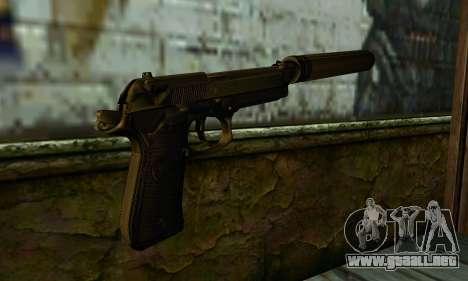 Beretta M9 Silenced para GTA San Andreas segunda pantalla