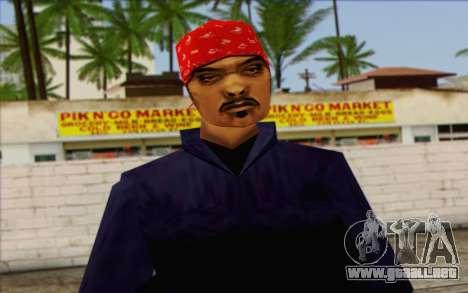 Diablo from GTA Vice City Skin 1 para GTA San Andreas tercera pantalla