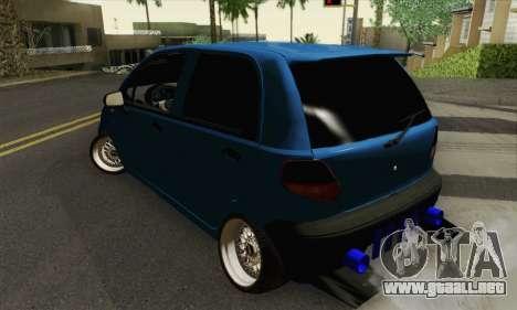 Daewoo Matiz Tuned para GTA San Andreas left