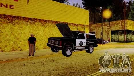 La reactivación de todas las comisarías de polic para GTA San Andreas sexta pantalla
