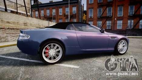 Aston Martin DB9 Volante 2005 VK Edition para GTA 4 left