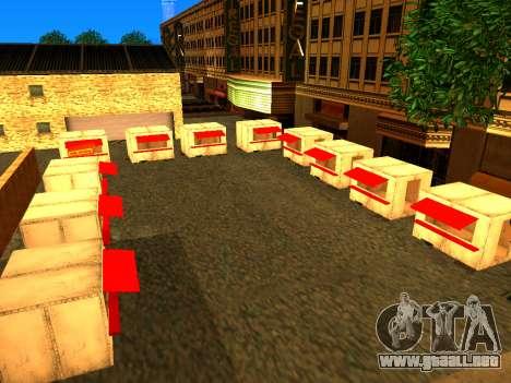 Relax City para GTA San Andreas tercera pantalla