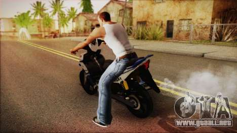 Yamaha Lagenda 115Z 2013 Fuel Injection para GTA San Andreas left
