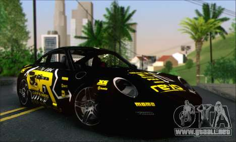 Porsche 997 Turbo Tunable para GTA San Andreas interior
