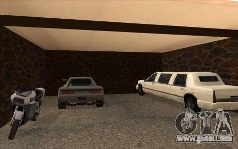 Casa nueva en Las Venturas para GTA San Andreas quinta pantalla