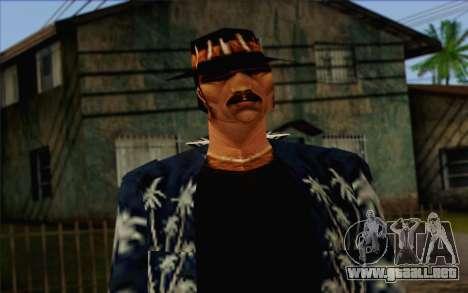 Cartel from GTA Vice City Skin 2 para GTA San Andreas tercera pantalla